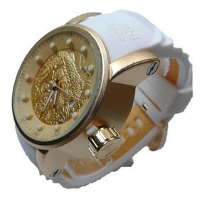 Relógio Masculino Caixa Dourada Prova D