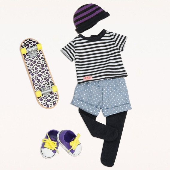 Our Generation Skater Outfit Ropa De Skater Para Muñeca