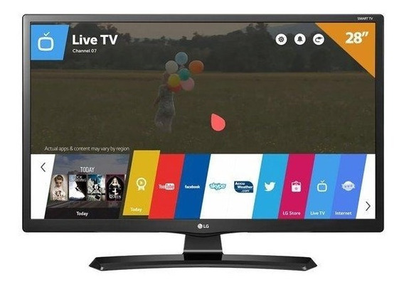 Smarttv Led 28 Monitor Lg 28mt49s, Hd, Hdmi, Usb