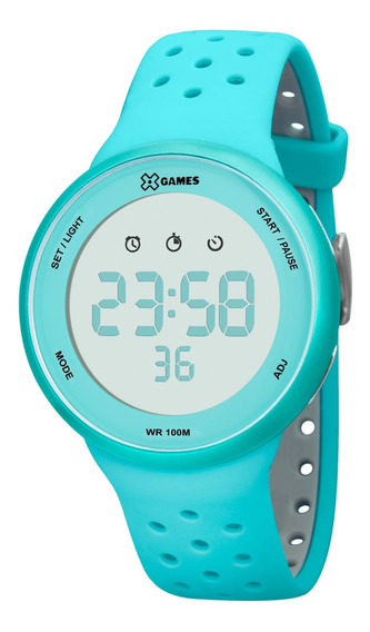 Relógio X Games Unissex Xfppd041 Bxag Azul - Refinado