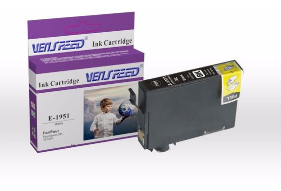 Cartucho Compatible Epson 195 Negro Y Colores Xp-101 Xp-201