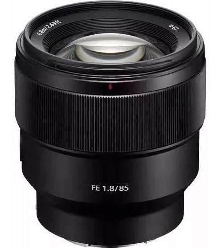 Lente Sony Fe 85mm F/1.8 E Mount Full Frame A7 A7s A7r
