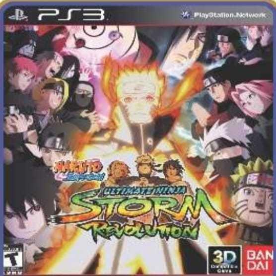 Naruto Revolution Ps3 Inglês Play 3 Jogo Em Oferta Comprar