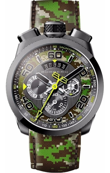 Bomberg Bolt-68 Camo Pacific Green