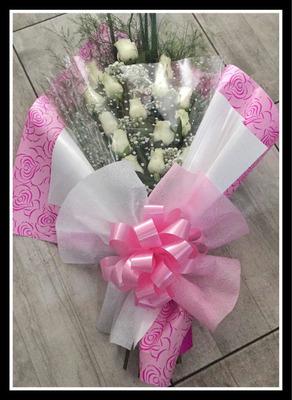 Ramo De Rosas, Ramo De Flores Naturales, Envío A Domicilio