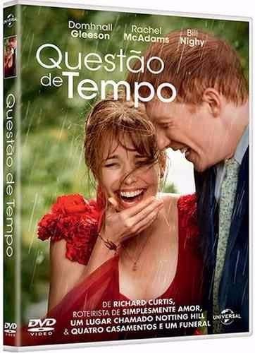 Dvd Questão De Tempo - Novo Original Lacrado Frete 12,00