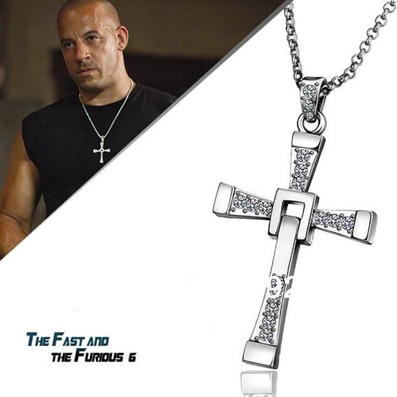 Colar Corrente Cordão Crucifixo Toretto Velozes Furiosos