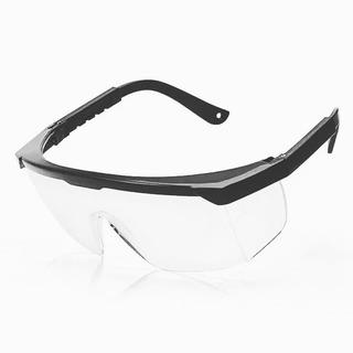Gafas De Seguridad Y Protección Marco Negro Lente Transparen