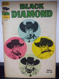 Hq Reis Do Faroeste 3 Black Diamond 4ª Serie Ebal 1974 Rjhm