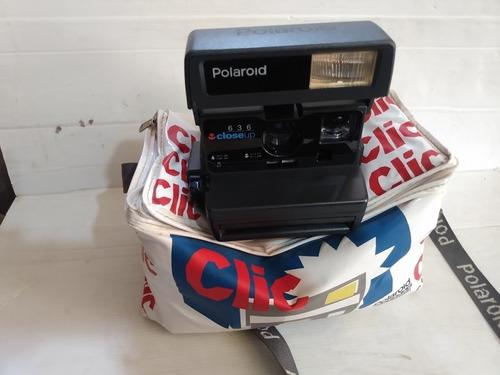 Camera Foto Polaroid 636 Closeup C/ Bolsa Original Perfeita