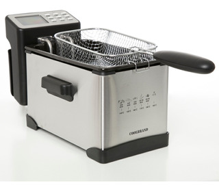Freidora Eléctrica Coolbrand 3040 3lts 2000w 6 Prog 190 Grad