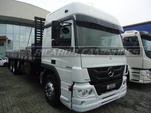 Imagem 1 de 13 de Mb Atego 2426 2014 Truck 6x2 Teto Alto C/ar ,carroceria 10 M
