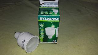 Lampara Bajo Consumo Tipo Dicroica Gu10 Sylvania