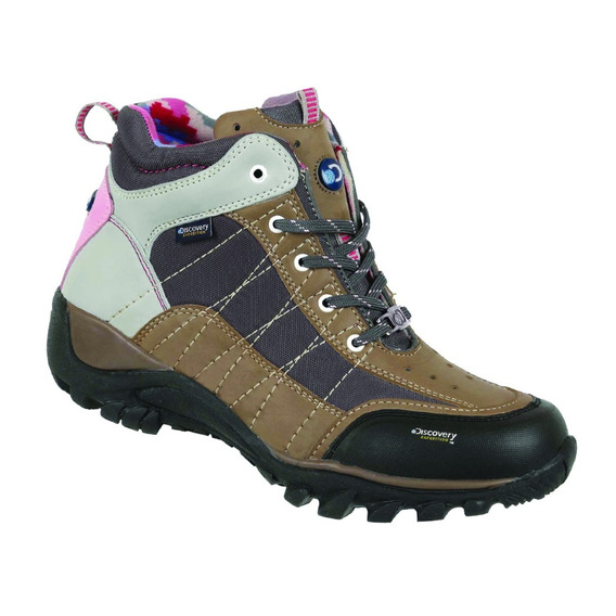 Bota Discovery Ds1961 Color Arena. Mujer