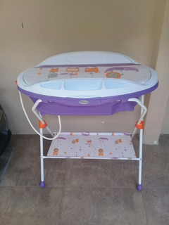 Tina De Baño Con Soporte Para Bebés Negociables