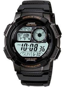 Relógio Casio - Ae-1000w-1avdf Chronograph -10 Year Battery