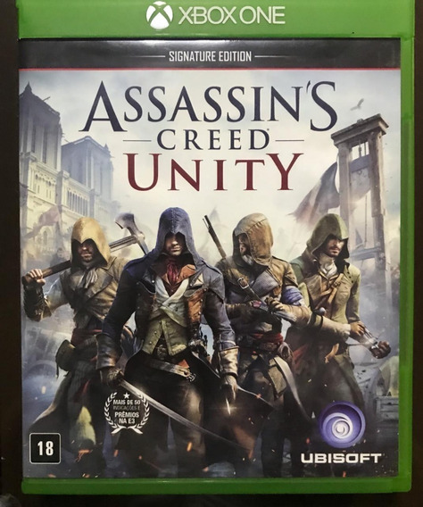 Jogo Assassins Creed Unity - Xbox One - Midia Fisica