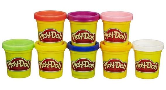 Play-doh - 8 Potes Novo A7923