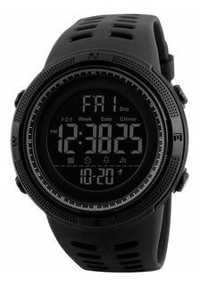 Reloj Hombre Skmei 1251 Crono Alarma Timer Luz Sumergible