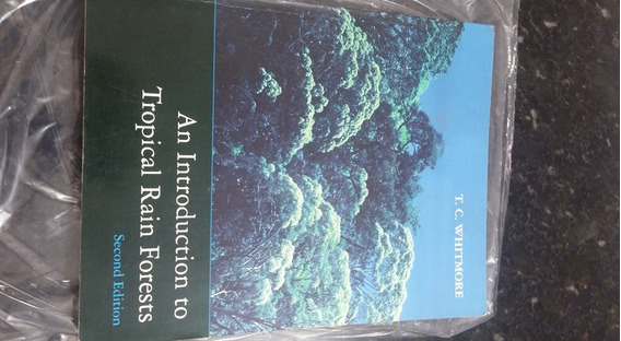 Livro An Introduction To Tropical Rain Forest !!!