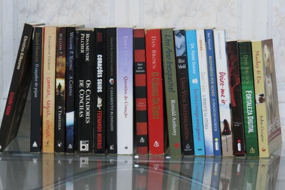 Lote 20 Romances Clássicos Da Literatura Best Seller Seleção