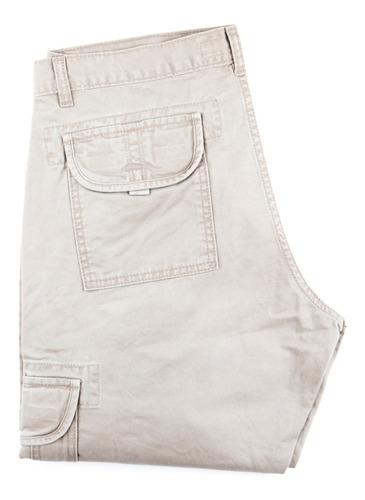 Imagen 1 de 1 de Pantalon Cargo Hombre Gabardina Colores