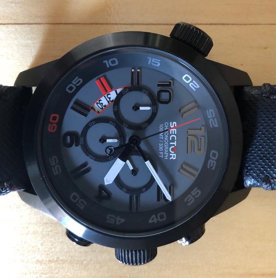 Relógio Sector Oversize Chronograph Original