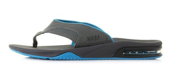 Reef Ojotas Fanning Gunmetal Blue 2026 (3022)