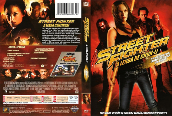Dvd Street Fighter A Lenda De Chun-li Original