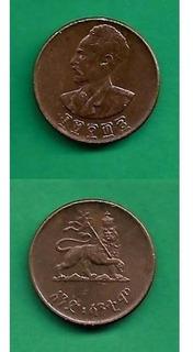 Grr-moneda De Etiopía 1 Cent 1943 - Haile Selassie I