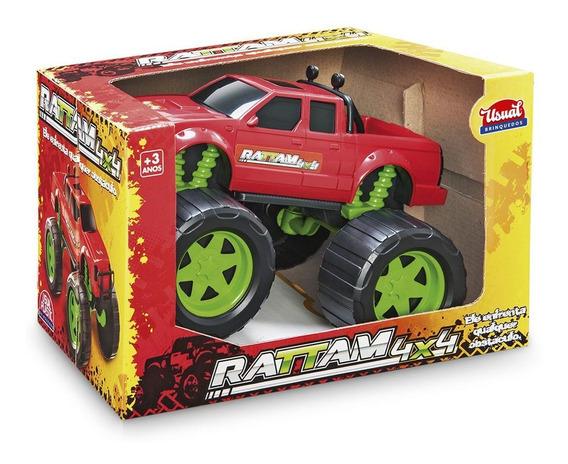 Carro Rattam 4x4 Off Road - Usual Plastic