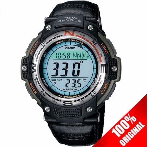 Reloj Casio Sgw100 Lona Brújula Digital Termómetro