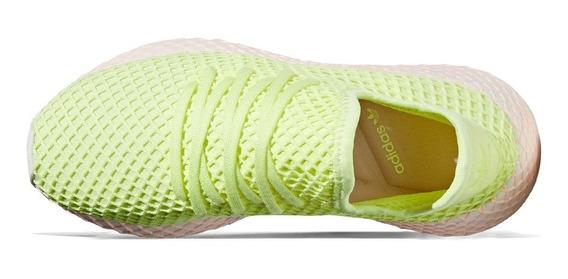 Zapatillas adidas Originals Deerupt Amarillo Mujer