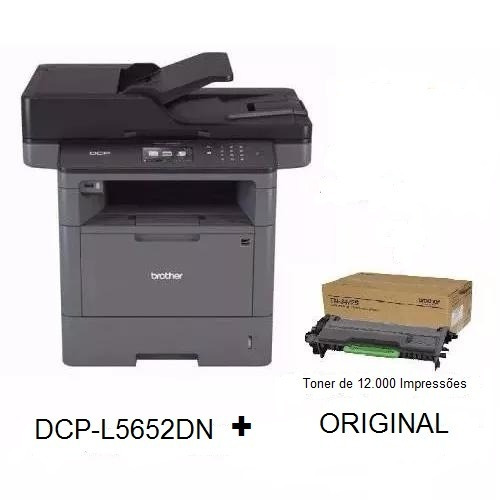 Multifuncional Brother Dcp-l5652dn L5652+ Toner 12k Original