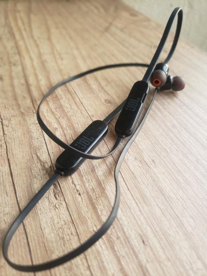 Fone De Ouvido Intra Auricular Jbl Bluetooth-com Microfone