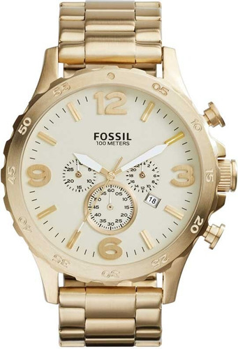 Relógio Fossil Masculino Nate Cronógrafo Jr1479/4xn
