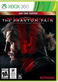 Metal Gear Solid V The Phantom Pain Xbox 360 (en D3 Gamers)