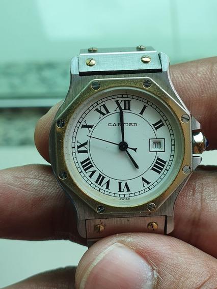 Relógio Cartier Santos Ronde Octagon Automático Feminino