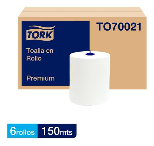 Toalla En Rollo Tork Matic® Jumbo Premium 6 Rollos De 150 M.