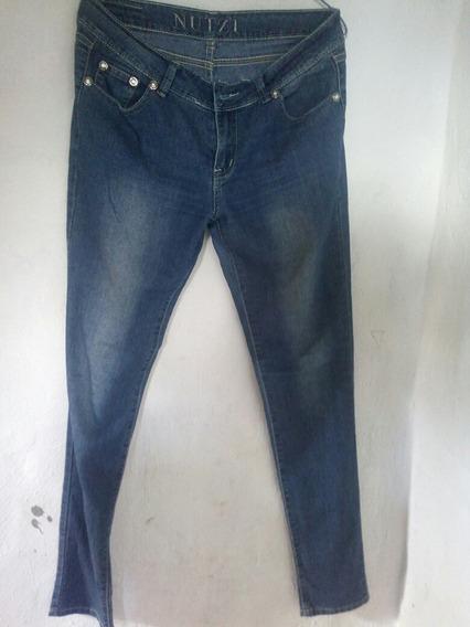 Jeans Dama Talla 12 Bota Recta