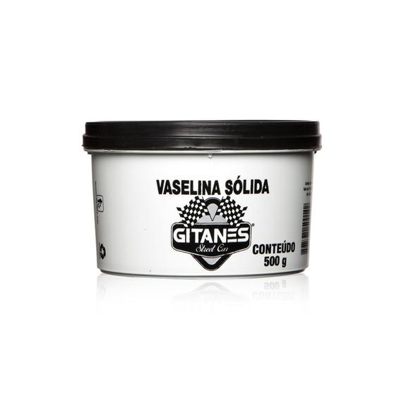 05 Unidades Vaselina Solida Gitanes 500 Gramas