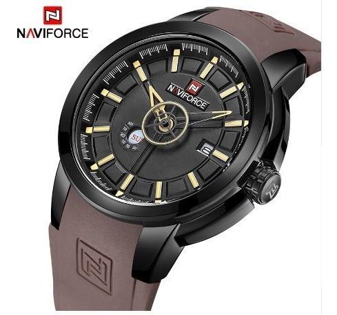 Relógio Masculino Luxo - Marca Naviforce - Frete Grátis