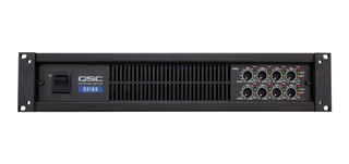 Qsc Cx168 Power Amplificador 130 Watts 8 Channel At 4 Ohms ®