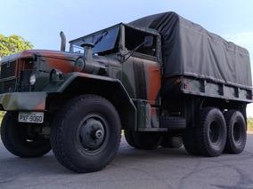 Caminhão Militar Reo M35 2 E 1/2 Ton - 1951