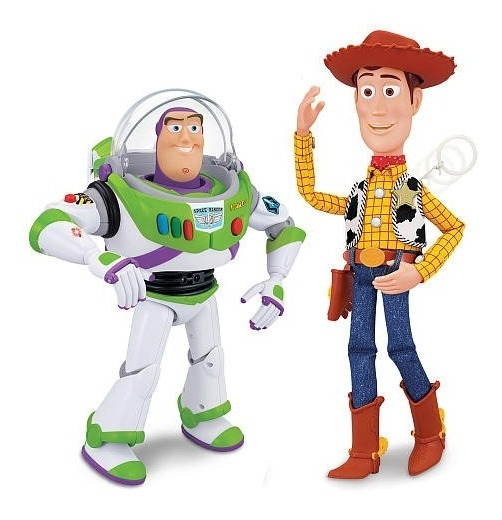 Buzz Lightyear / Woody Interactivos Dicen Frases Parlantes