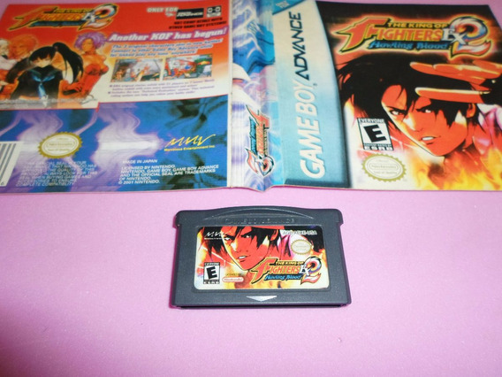Jogo The King Of Fighters Ex 2 Para Game Boy Advance Gba