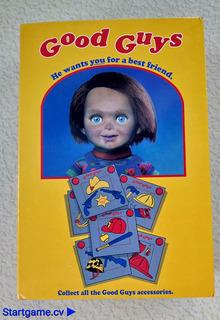 Figura De Terror Chucky En Escala, 4 Pulgadas