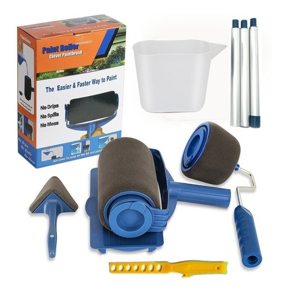 Kit D/rodillo Y Accesorios Paint Runner Pro P/pintar Paredes
