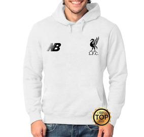 ef41650336 Blusa Moletom Liverpool Time Futebol Moleton Unissex