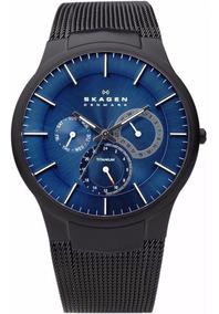 Relógio Skagen Slim Titanium 809xltbn